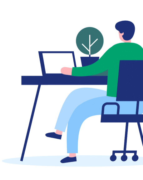GoBright - illustration Desk - Work