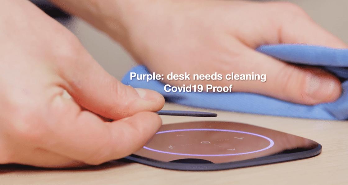 GoBright Work - Desk Booking - Clean Desk - Hygienic Desk