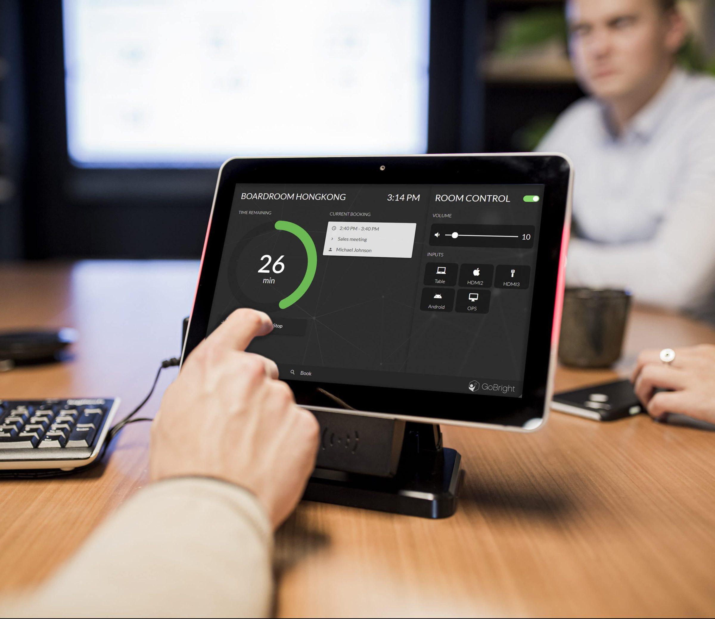 GoBright Meet - Room Management - Room Control