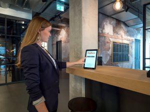 GoBright Visit - digital reception - visitor management - self registration