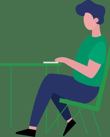 gobright_sitting_behind_desk