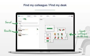 GoBright - New Dashboard - Find my colleague