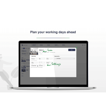 GoBright - Recurring Desk Bookings