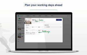 GoBright Online Portal - Recurring Desk Bookings